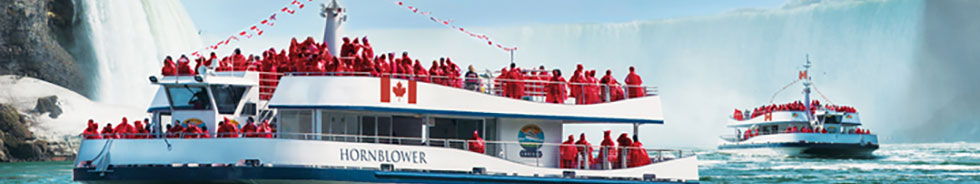 Hornblower Boat Cruise Attraction in Niagara