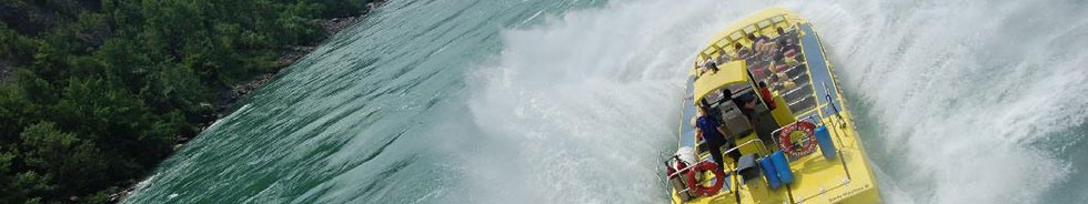 Whirlpool Jet Boat Tours Attraction in Niagara