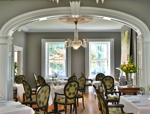Dining Room at The HobNob Restaurant in Niagara-on-the-Lake